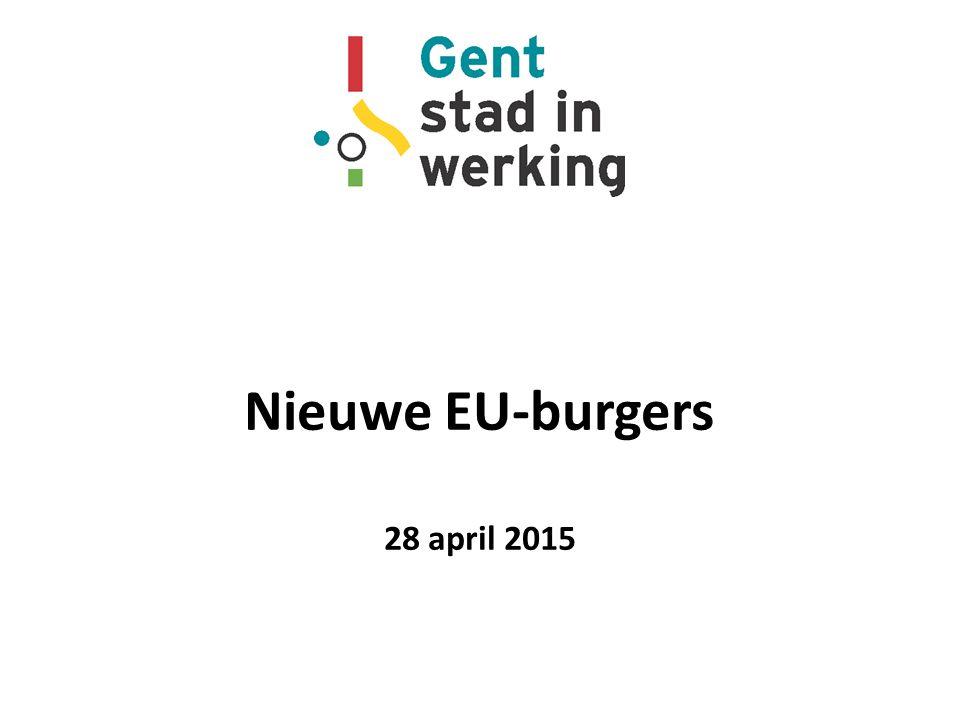 Nieuwe EU-burgers 28 april 2015