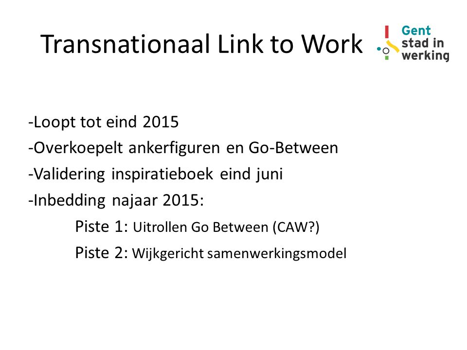 Transnationaal Link to Work