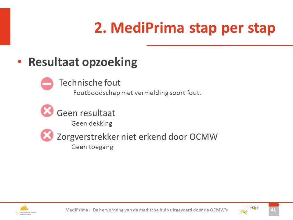 2. MediPrima stap per stap