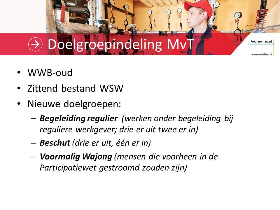 Doelgroepindeling MvT