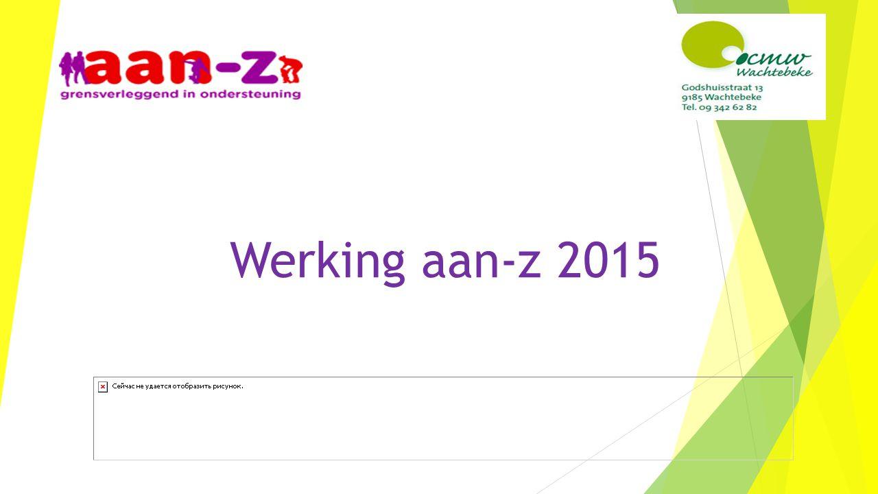 Werking aan-z 2015