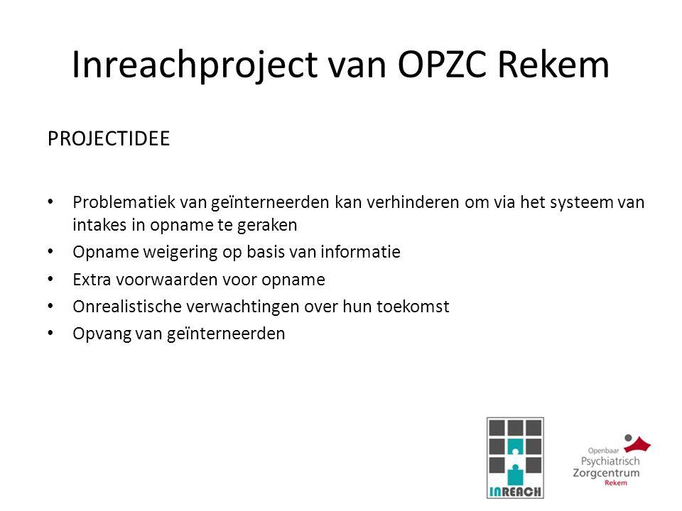 Inreachproject van OPZC Rekem