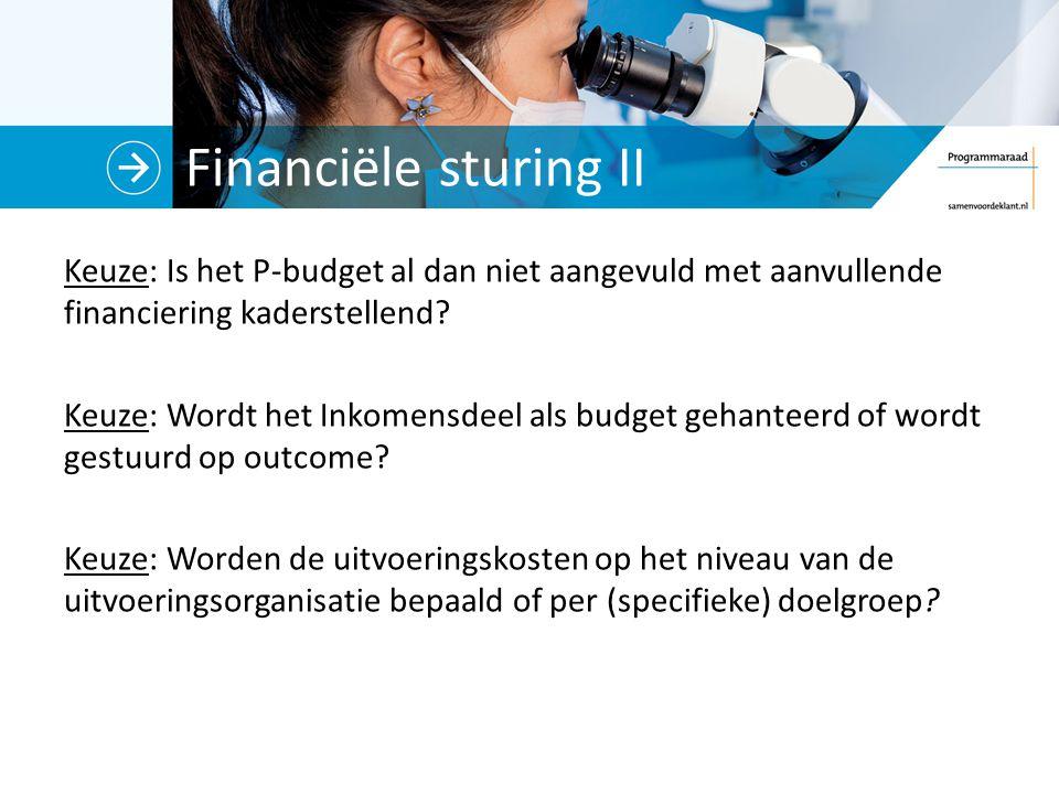 Financiële sturing II