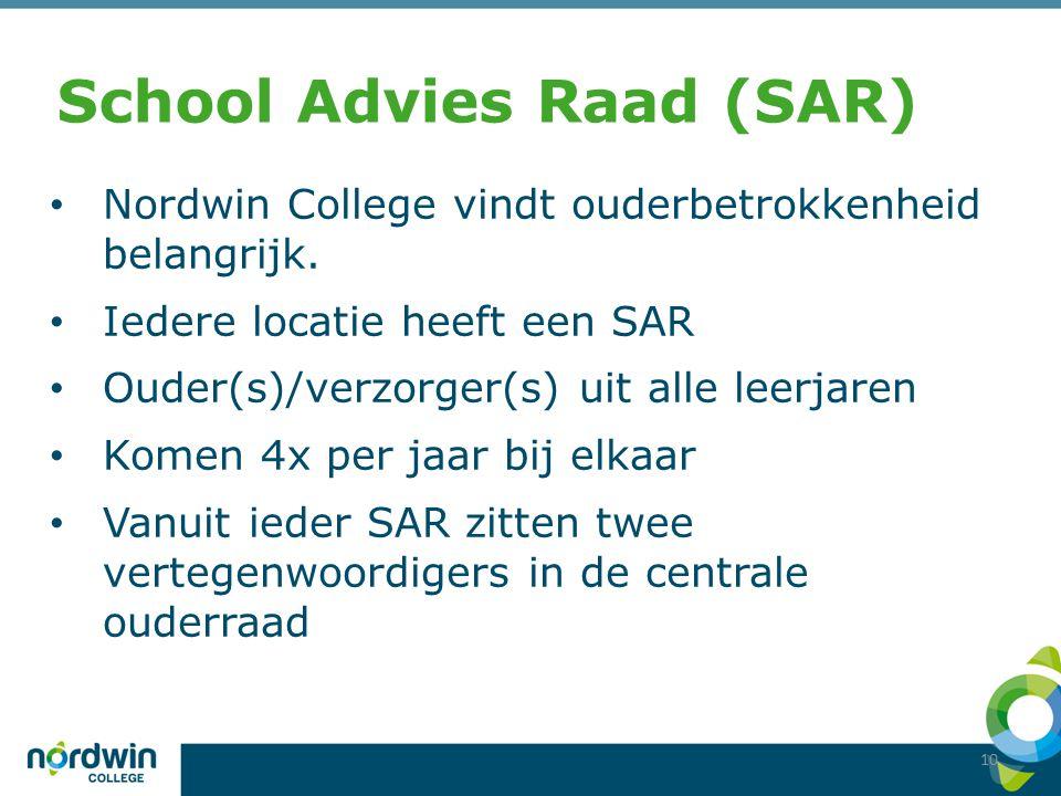 School Advies Raad (SAR)