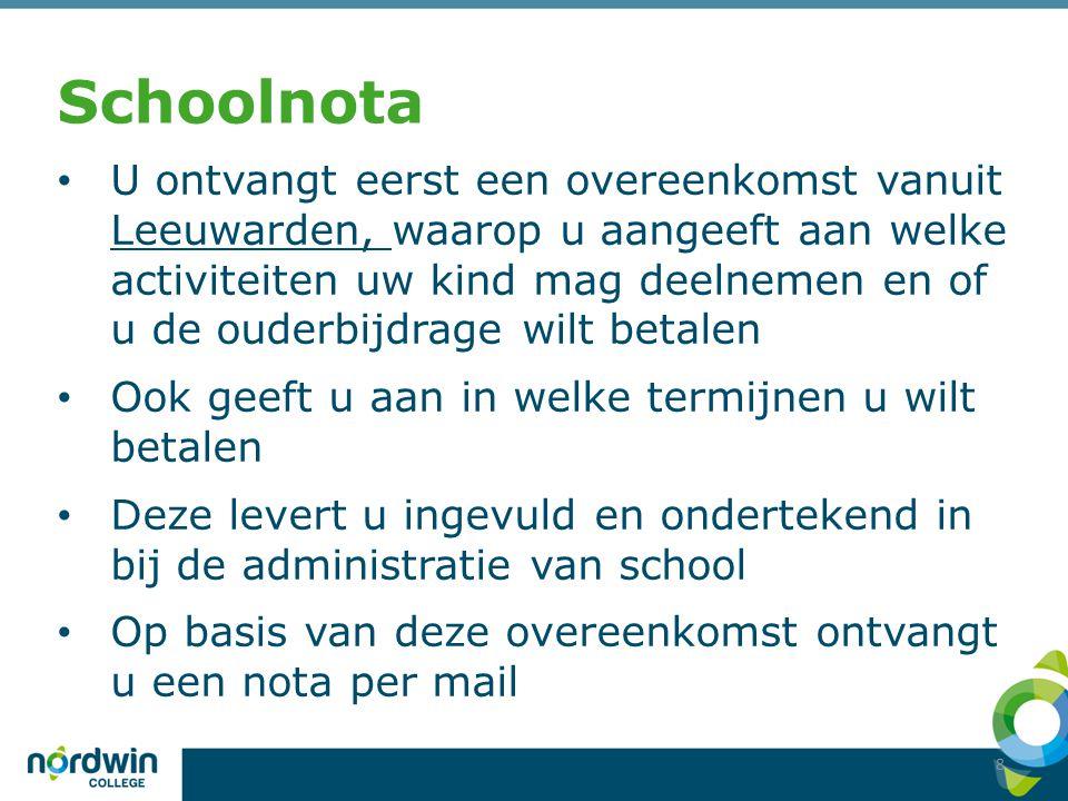 Schoolnota