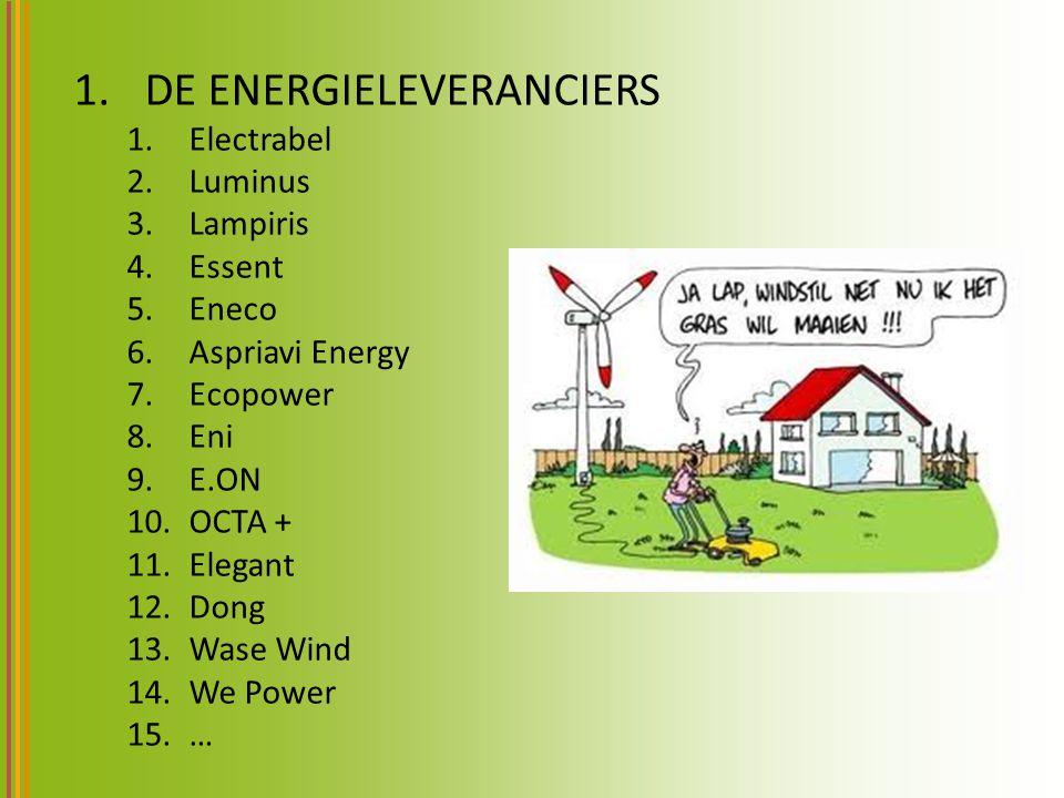 DE ENERGIELEVERANCIERS