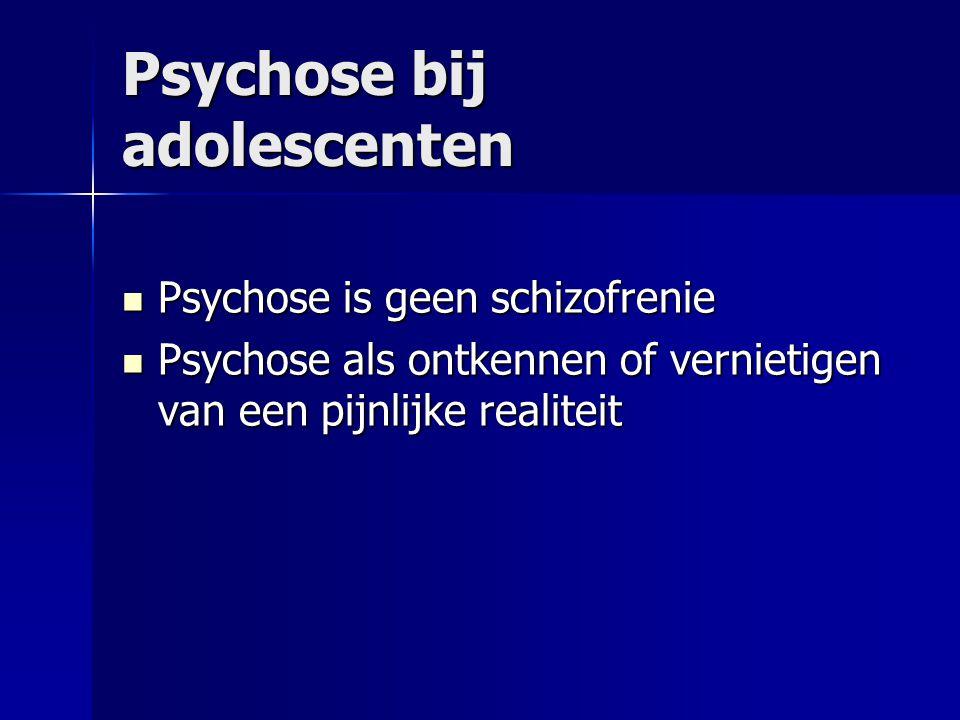 Psychose bij adolescenten