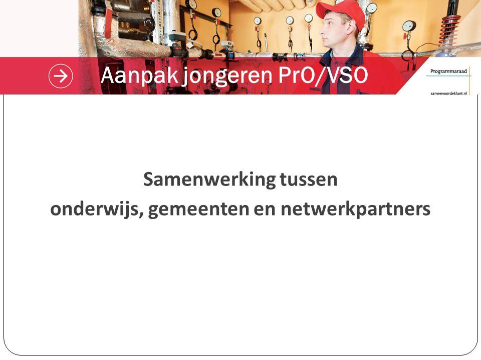 Aanpak jongeren PrO/VSO