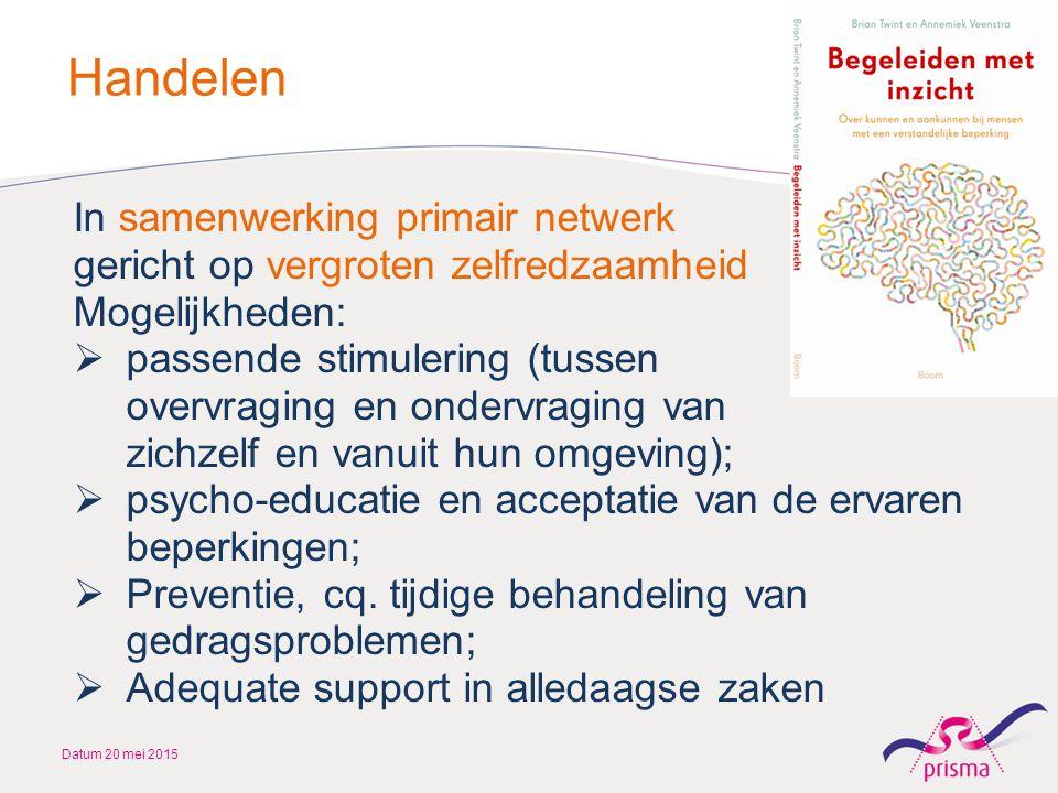 Handelen In samenwerking primair netwerk