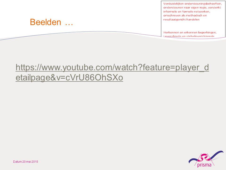 Beelden … https://www.youtube.com/watch feature=player_detailpage&v=cVrU86OhSXo Datum 20 mei 2015