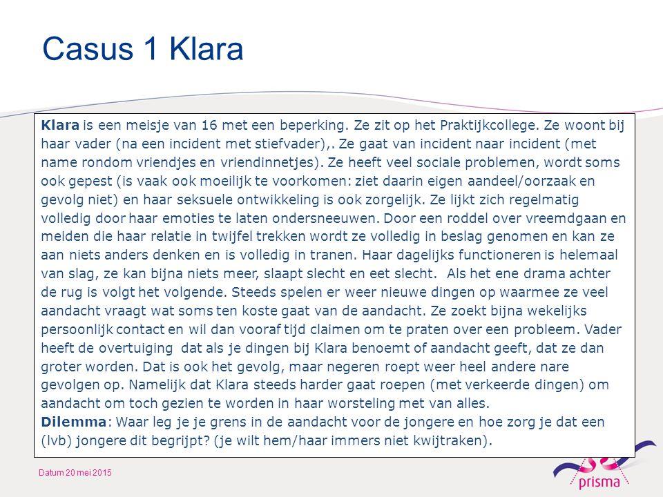Casus 1 Klara