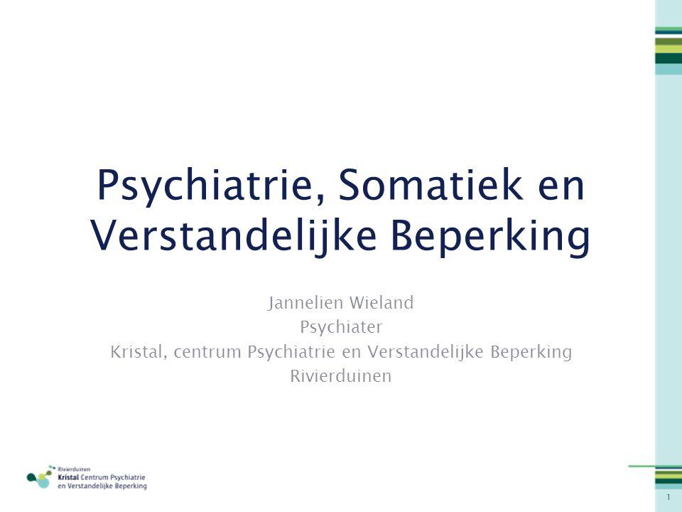 Psychiatrie, Somatiek en Verstandelijke Beperking