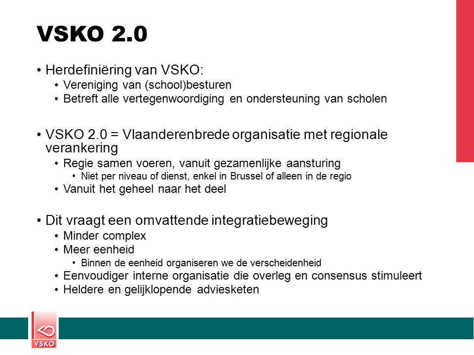 VSKO 2.0 Herdefiniëring van VSKO: