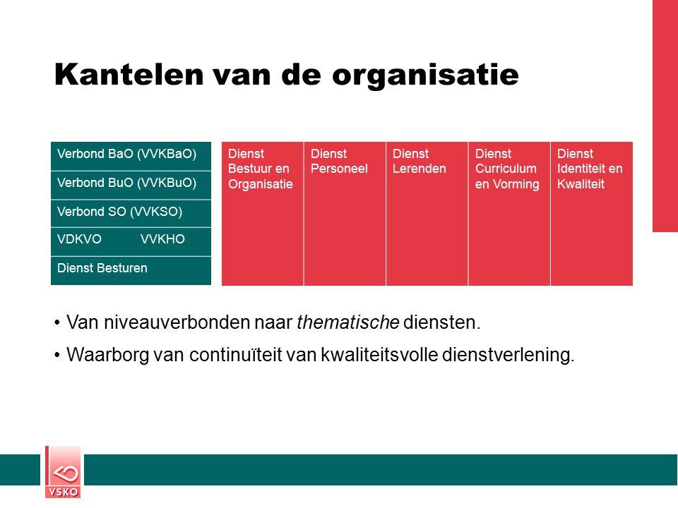 Kantelen van de organisatie