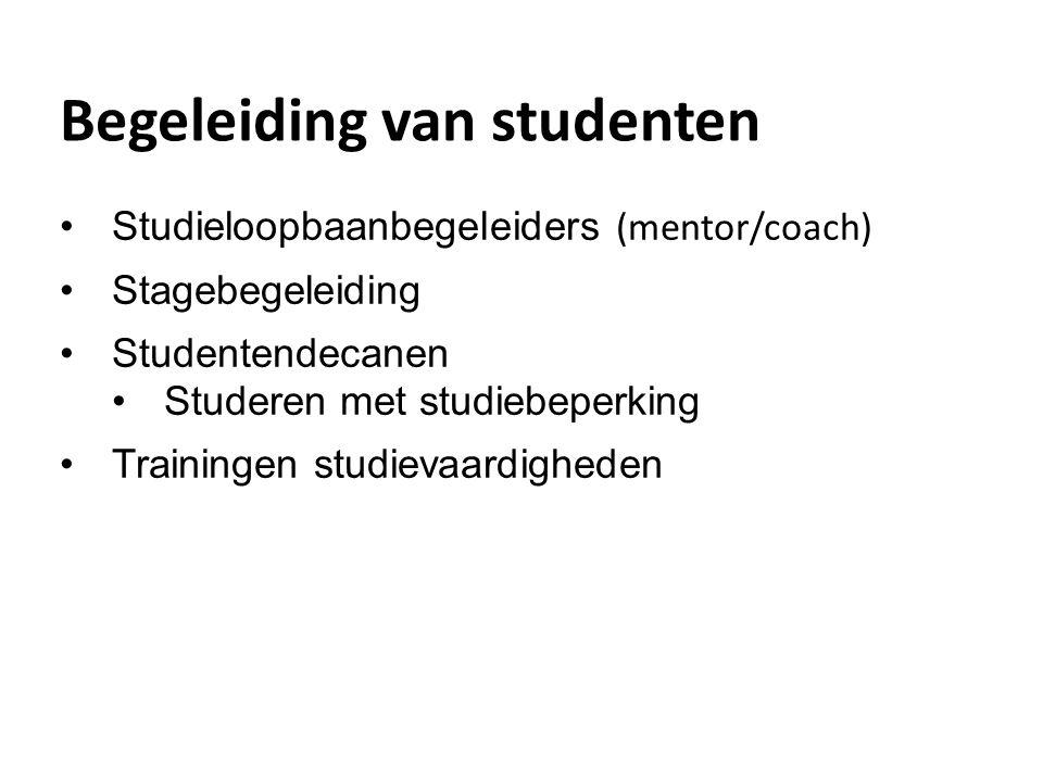 Begeleiding van studenten