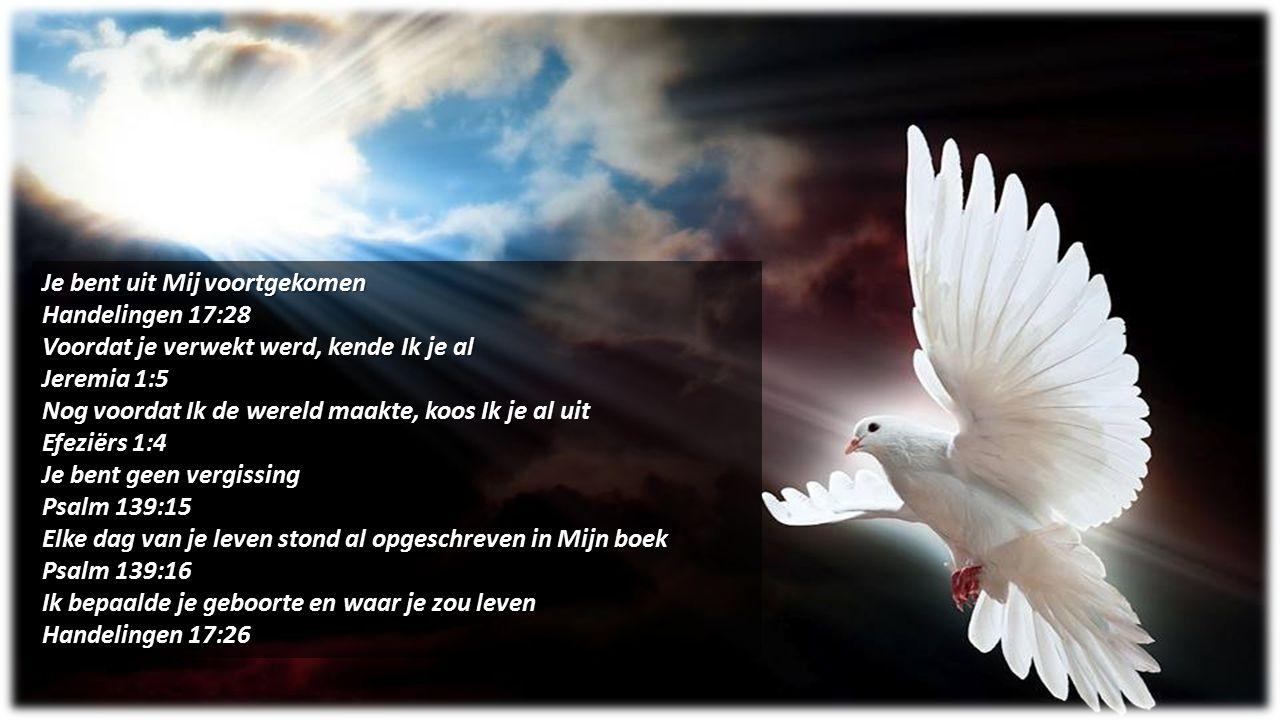 Je bent uit Mij voortgekomen Handelingen 17:28