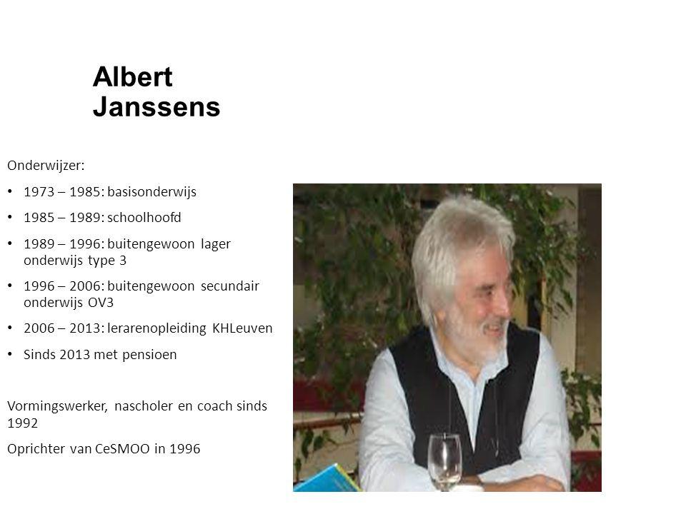 Albert Janssens Onderwijzer: 1973 – 1985: basisonderwijs