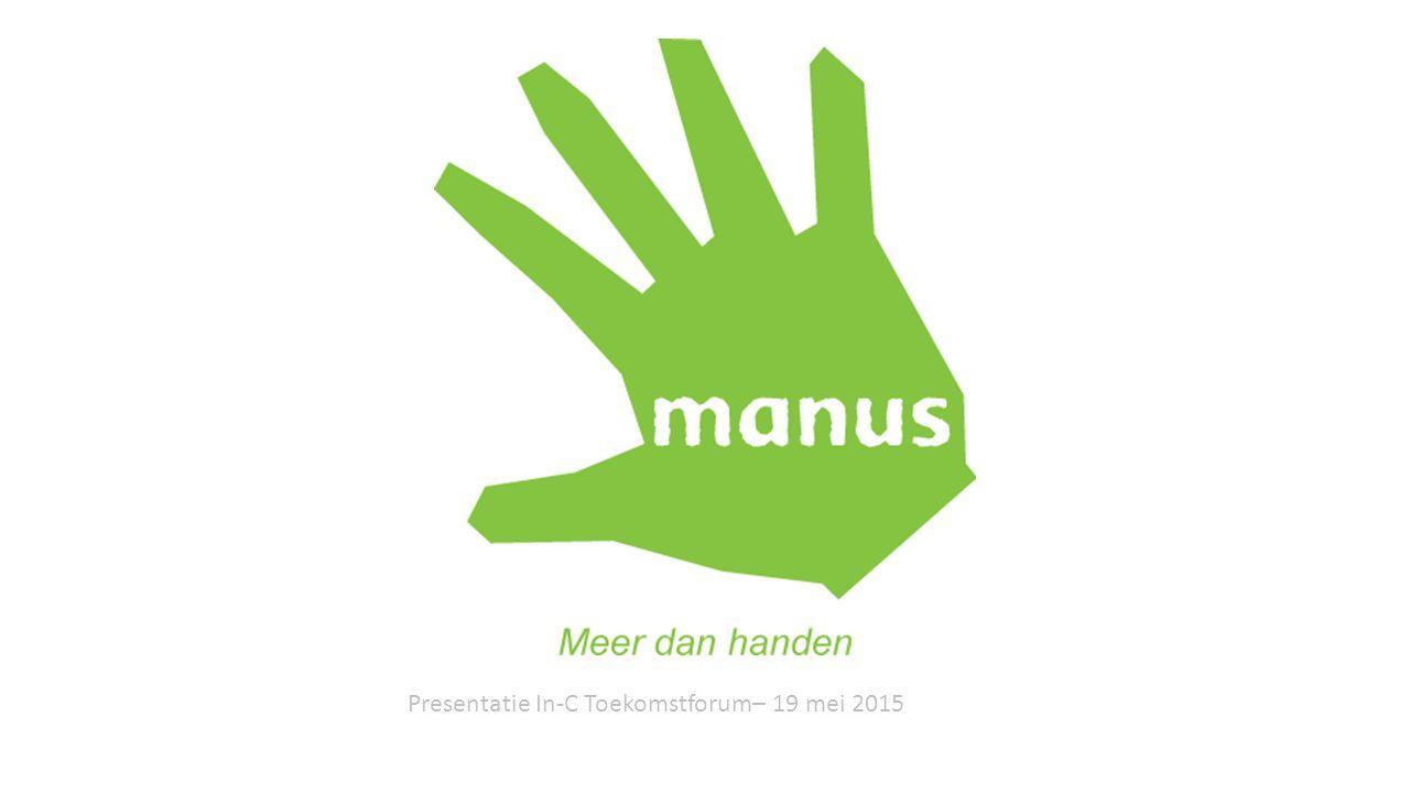 Presentatie In-C Toekomstforum– 19 mei 2015