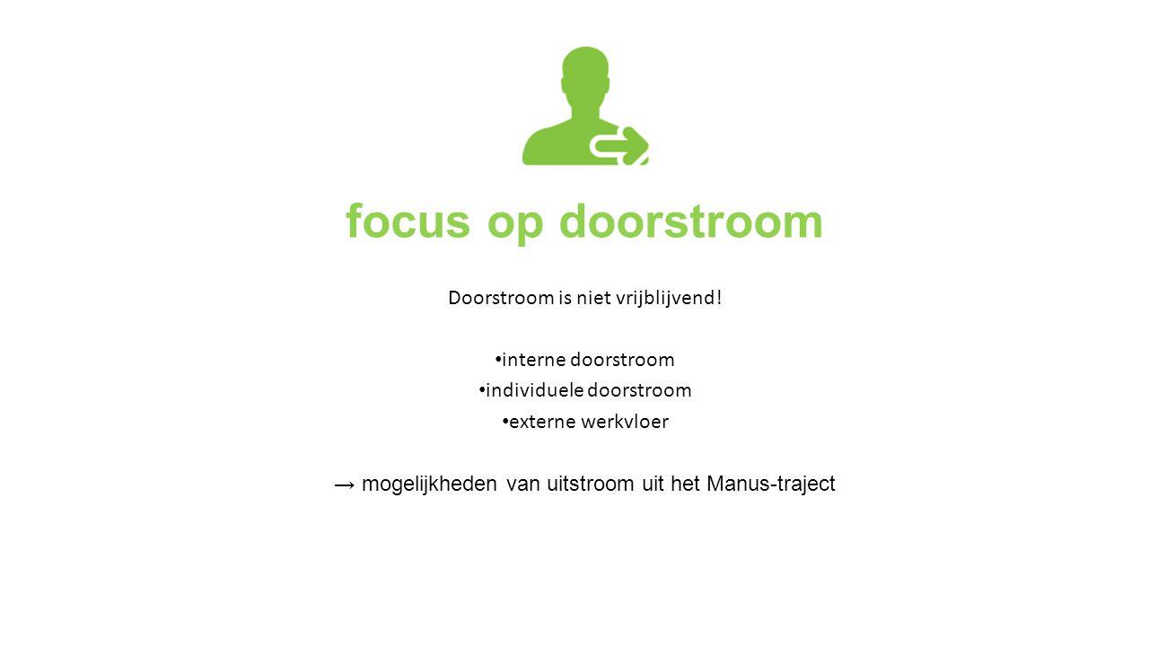 focus op doorstroom Doorstroom is niet vrijblijvend!