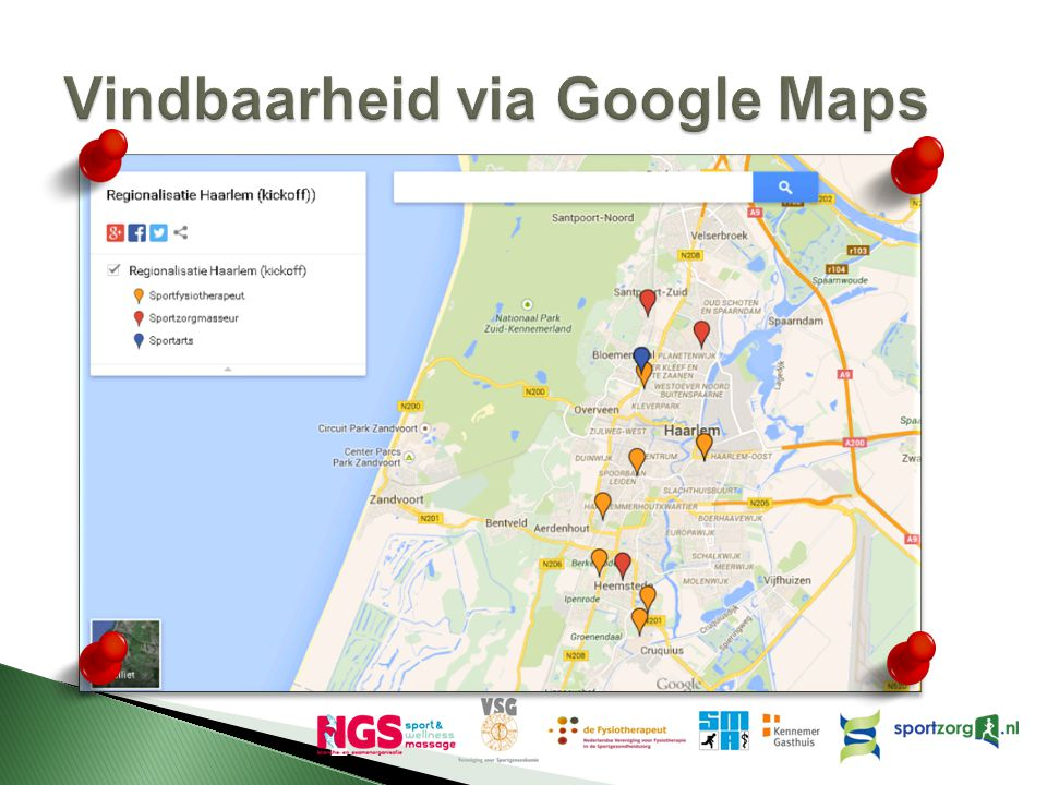 Vindbaarheid via Google Maps