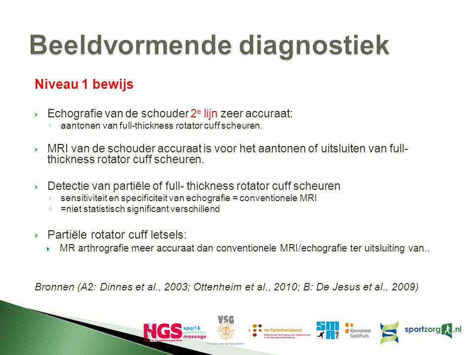 Beeldvormende diagnostiek