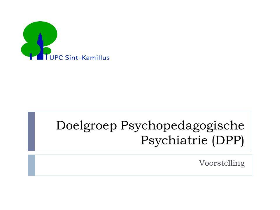 Doelgroep Psychopedagogische Psychiatrie (DPP)
