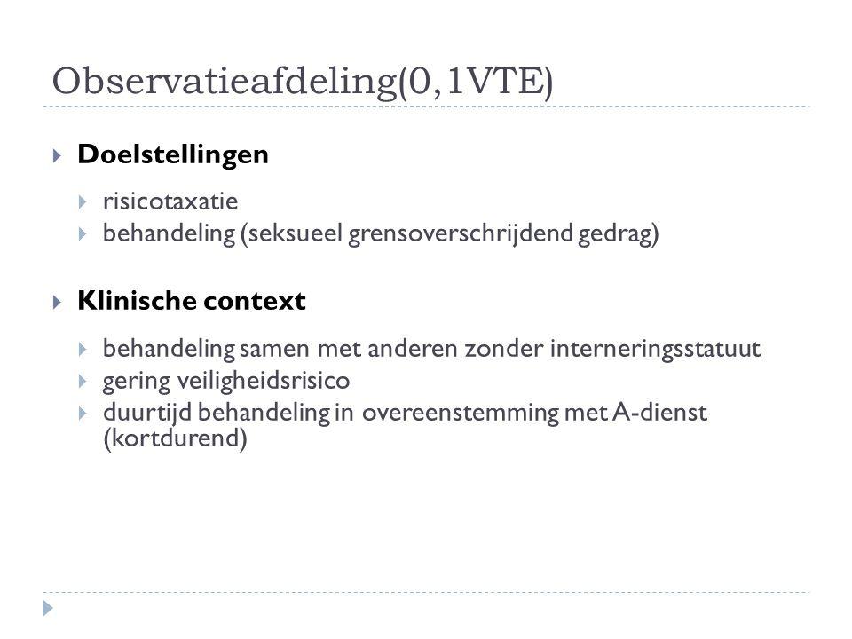Observatieafdeling(0,1VTE)