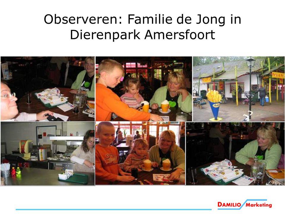 Observeren: Familie de Jong in Dierenpark Amersfoort