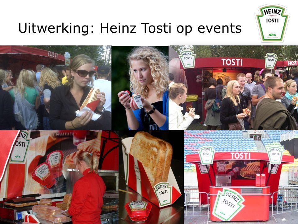 Uitwerking: Heinz Tosti op events