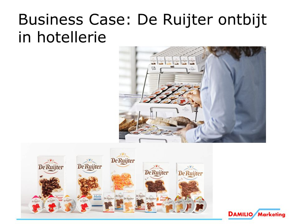 Business Case: De Ruijter ontbijt in hotellerie