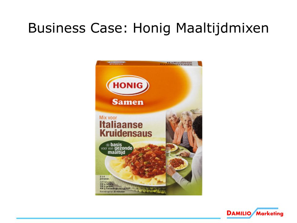 Business Case: Honig Maaltijdmixen