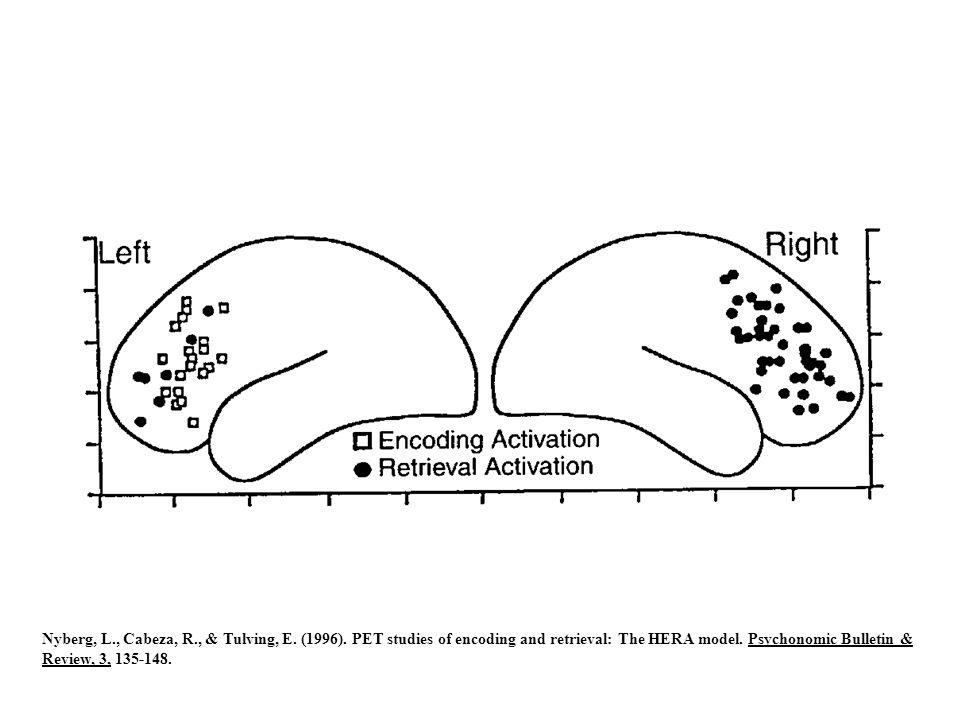 Nyberg, L. , Cabeza, R. , & Tulving, E. (1996)