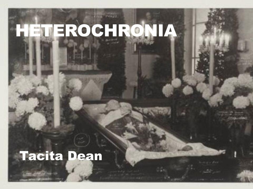 Heterochronia Tacita Dean