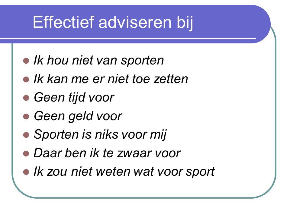 Effectief adviseren bij