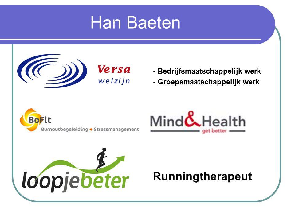 Han Baeten Runningtherapeut - Bedrijfsmaatschappelijk werk