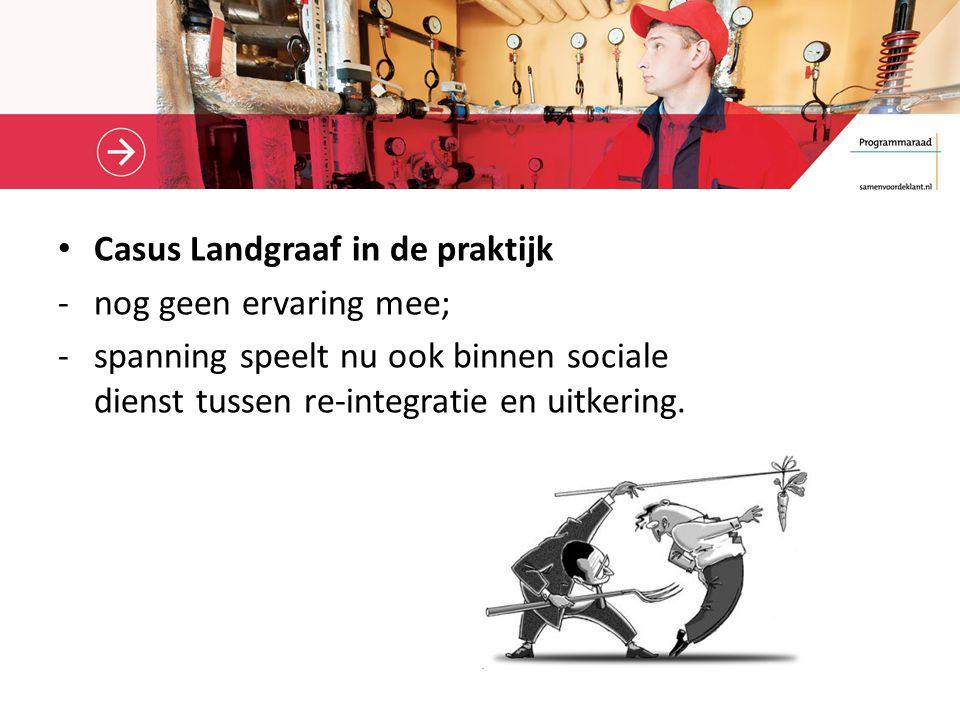 Casus Landgraaf in de praktijk