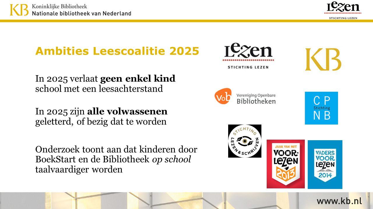 Ambities Leescoalitie 2025