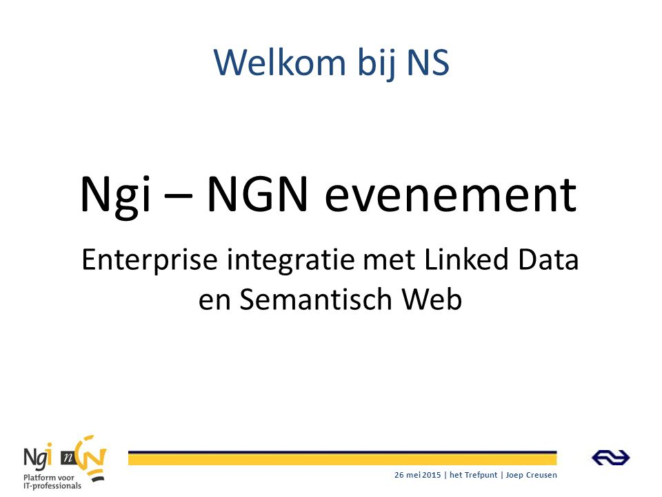 Enterprise integratie met Linked Data en Semantisch Web