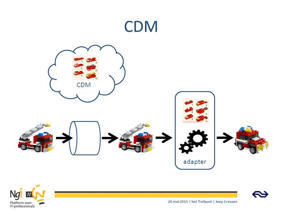 CDM CDM adapter 26 mei 2015 | het Trefpunt | Joep Creusen