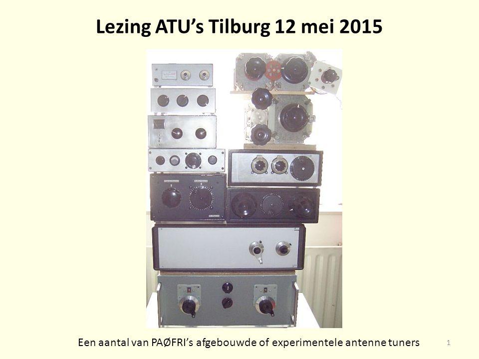 Lezing ATU's Tilburg 12 mei 2015