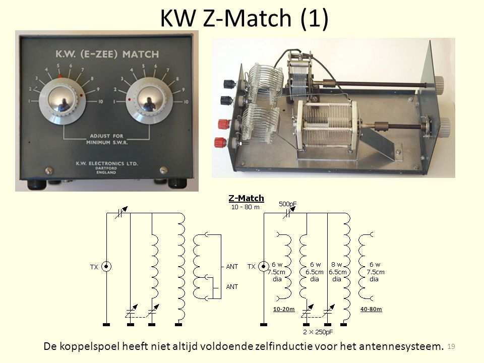 KW Z-Match (1) 10-20m. 40-80m.