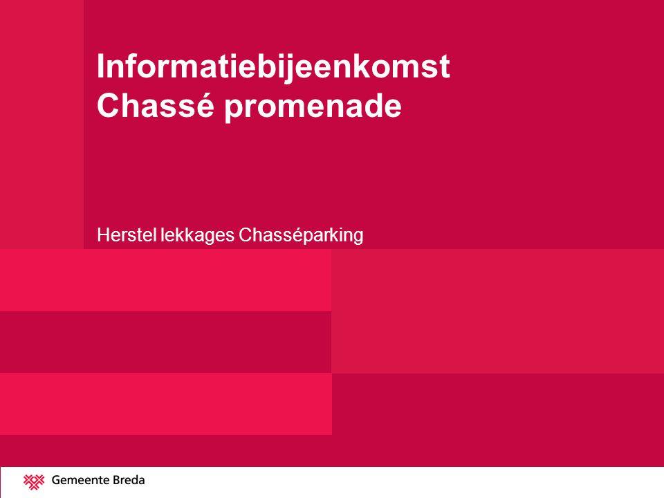 Informatiebijeenkomst Chassé promenade