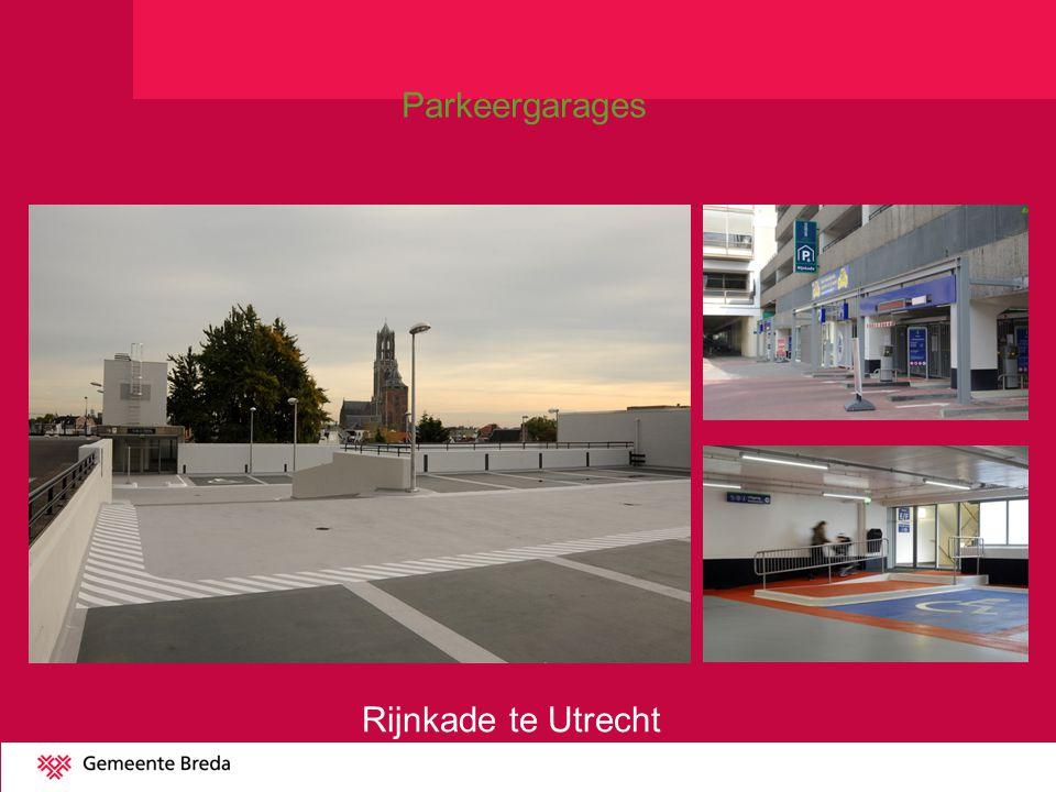 Parkeergarages Rijnkade te Utrecht
