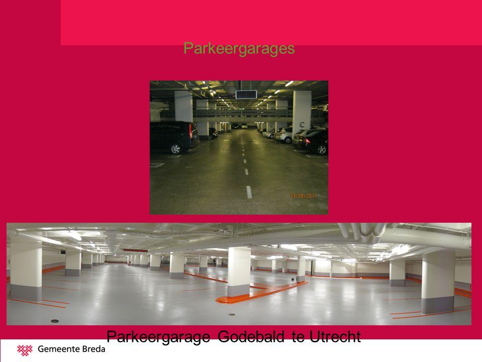 Parkeergarage Godebald te Utrecht
