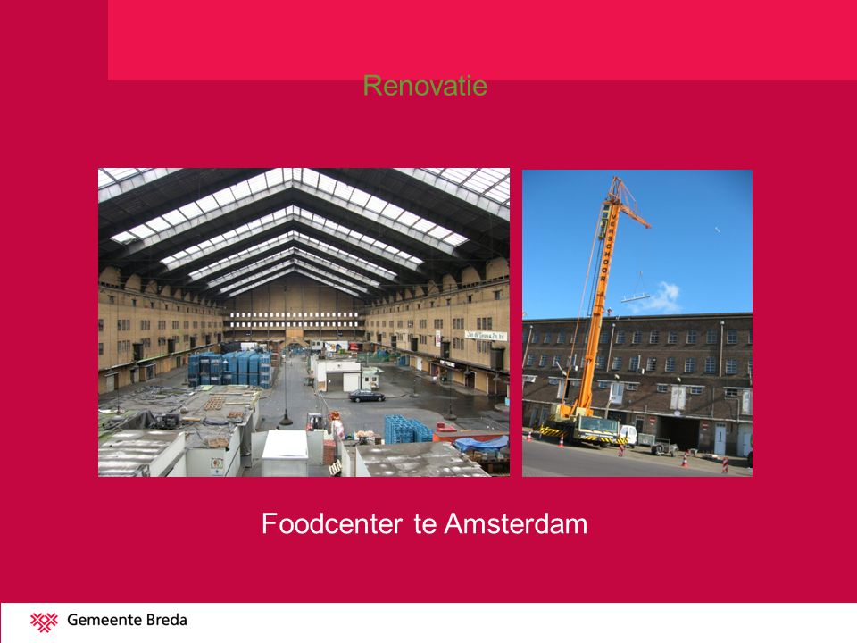 Foodcenter te Amsterdam