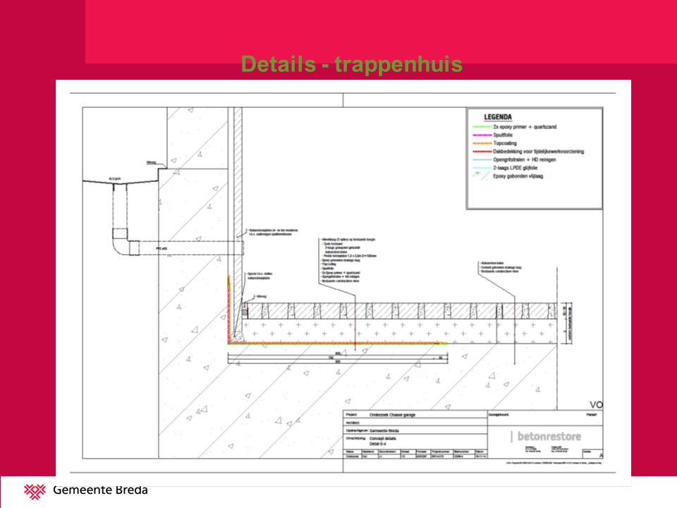 Details - trappenhuis