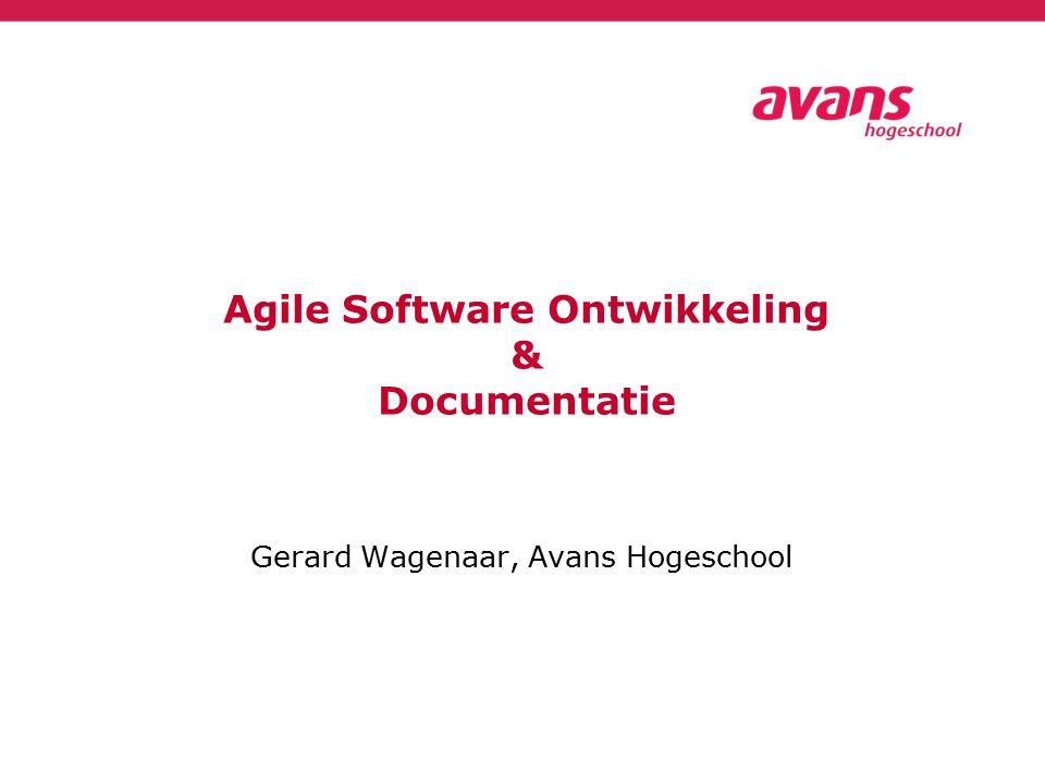 Gerard Wagenaar, Avans Hogeschool