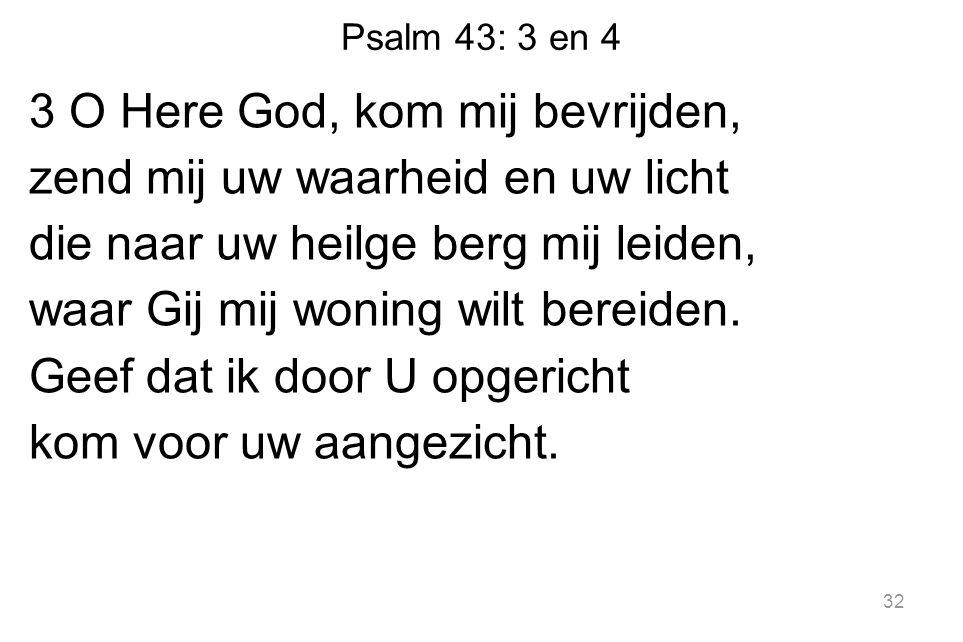 Psalm 43: 3 en 4