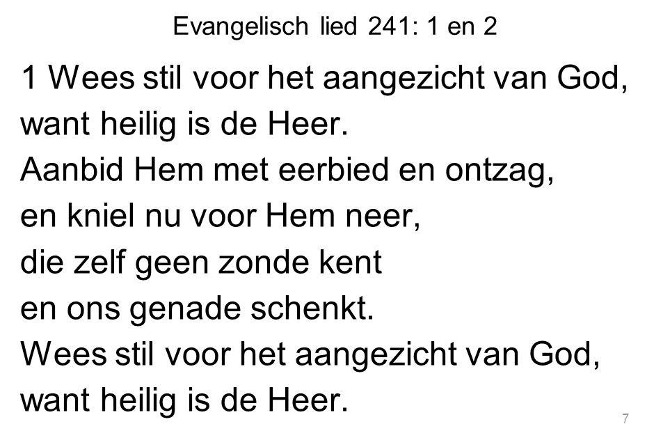 Evangelisch lied 241: 1 en 2