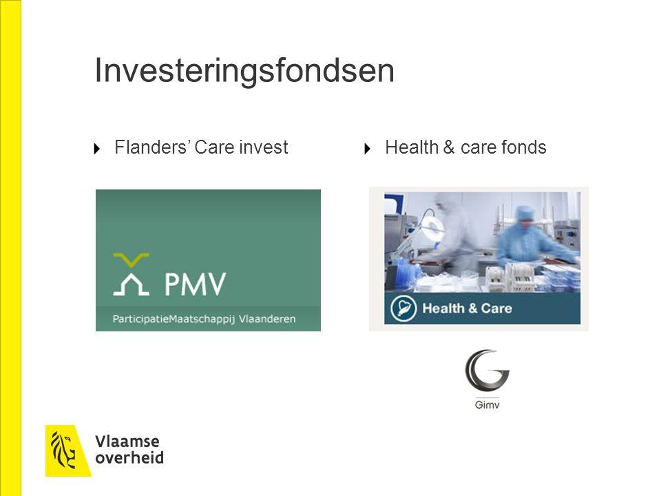 Investeringsfondsen Flanders' Care invest Health & care fonds